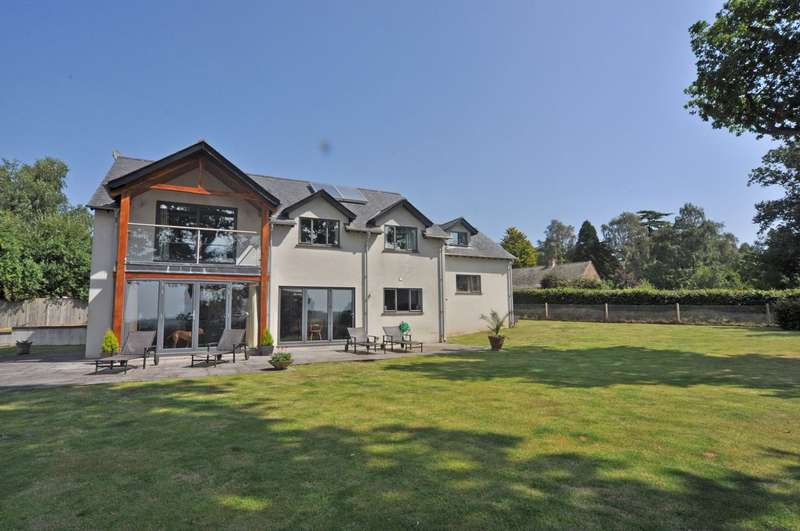 4 Bedrooms Detached House for sale in West Hill, Exeter