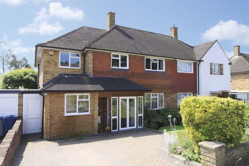 5 Bedrooms Semi Detached House for sale in Albury Drive, Pinner