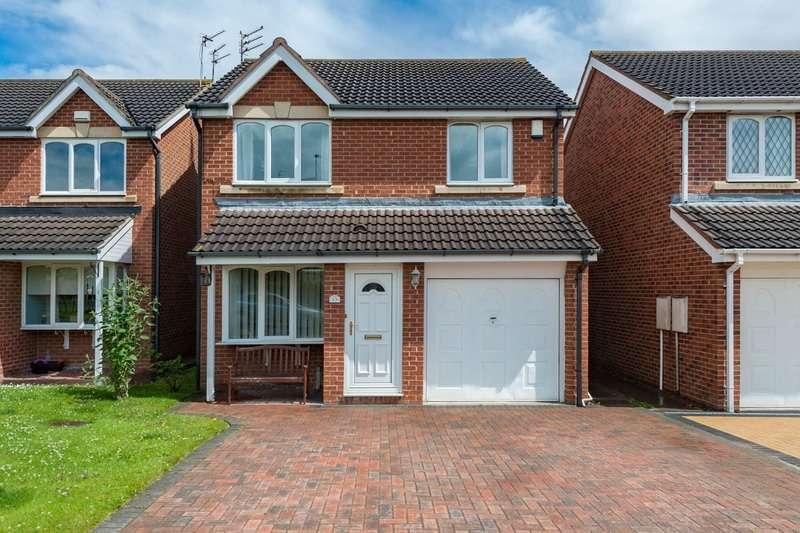 3 Bedrooms Detached House for sale in Ashwood Close, Cramlington, Northumberland, NE23