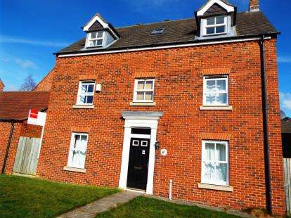 5 Bedrooms Detached House for sale in Warkworth Woods, Newcastle Upon Tyne, Tyne and Wear, NE3