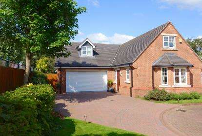 4 Bedrooms Detached House for sale in Matthews Way, Audlem, Crewe, Cheshire