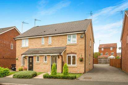 3 Bedrooms Semi Detached House for sale in Swan Meadow, Warwick, Warwickshire