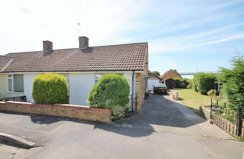 3 Bedrooms Semi Detached Bungalow for sale in Highnam Close, Bristol