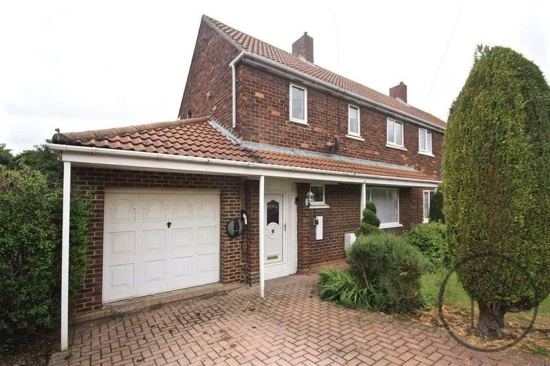2 Bedrooms Semi Detached House for sale in Salisbury Crescent, Ferryhill