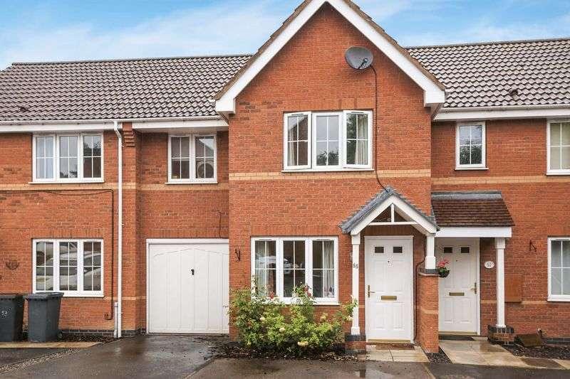 3 Bedrooms Semi Detached House for sale in Buttercup Avenue, Donisthorpe, Derbyshire DE12 7RR
