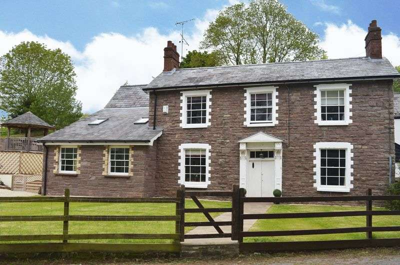 4 Bedrooms Semi Detached House for sale in Llantilio Pertholey, Abergavenny