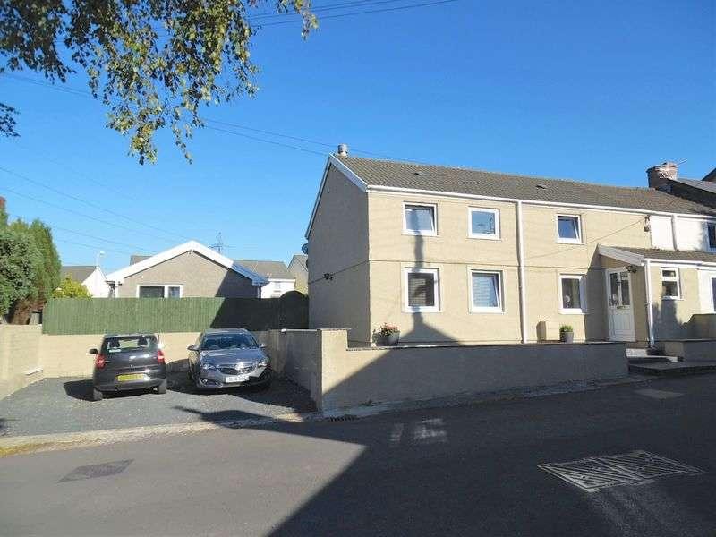 3 Bedrooms Semi Detached House for sale in Crown Road Kenfig Hill Bridgend CF33 6EN