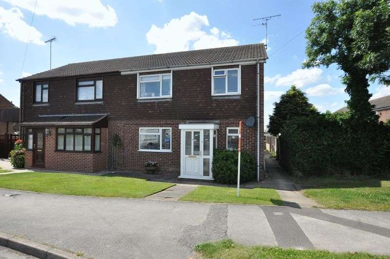 3 Bedrooms Semi Detached House for sale in Appletree Road, Hatton