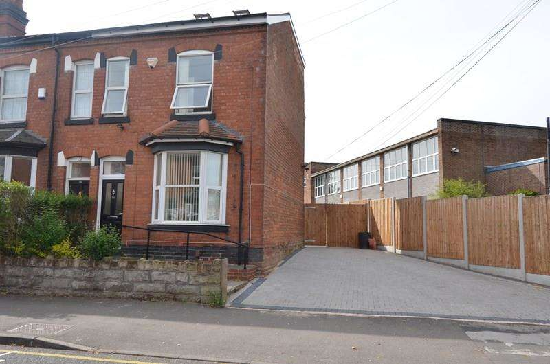 3 Bedrooms End Of Terrace House for sale in Institute Road, Kings Heath, Birmingham