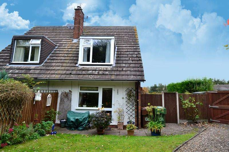 2 Bedrooms Semi Detached House for sale in Finstall Road, Bromsgrove