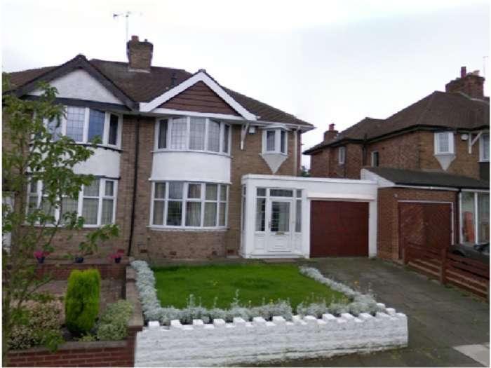 3 Bedrooms Semi Detached House for sale in Welwyndale Road, Wylde Green