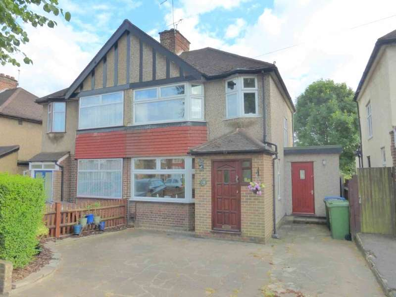 3 Bedrooms Semi Detached House for sale in Balmoral Road, Watford