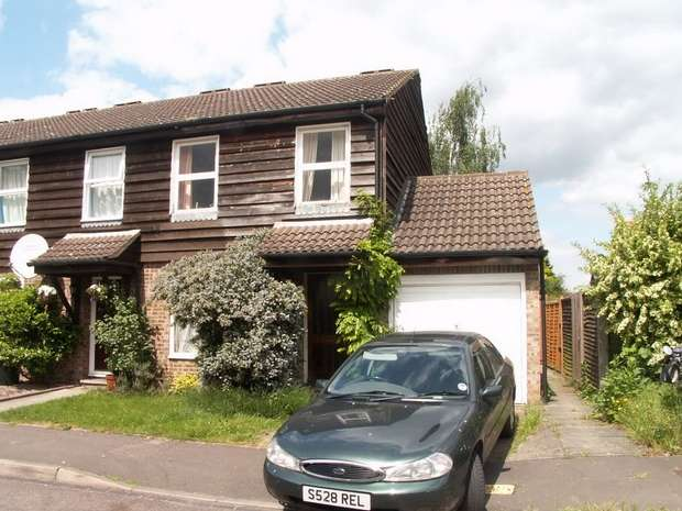 3 Bedrooms End Of Terrace House for sale in Walker Close, Hampton