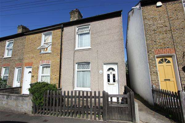2 Bedrooms End Of Terrace House for sale in Sanderstead Road, South Croydon