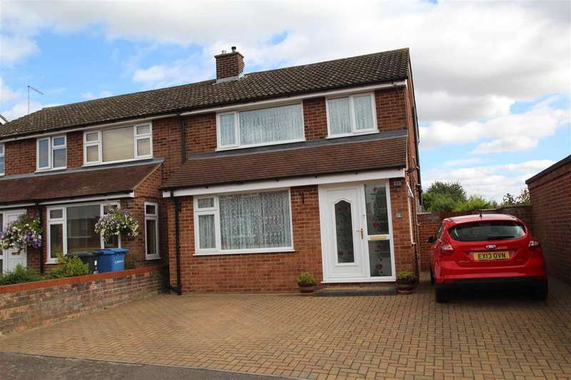 3 Bedrooms Semi Detached House for sale in Beech Road, Great Cornard