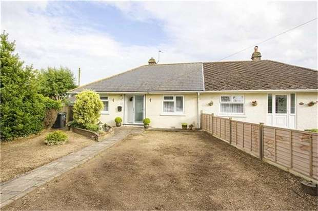 2 Bedrooms Semi Detached Bungalow for sale in Cottington Road, Cliffsend, RAMSGATE, Kent