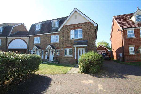 3 Bedrooms Terraced House for sale in Hartree Way, Grange Farm, Kesgrave, Ipswich