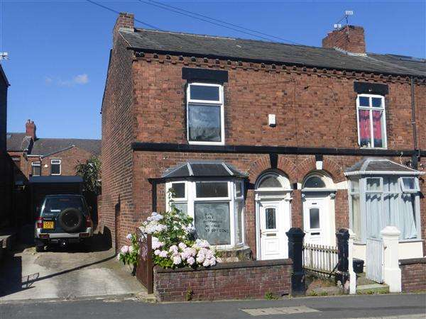 2 Bedrooms End Of Terrace House for sale in Lugsmore Lane, Thatto Heath, St. Helens