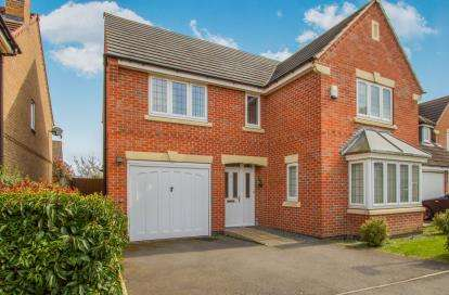 4 Bedrooms Detached House for sale in Billesdon Close, Leicester