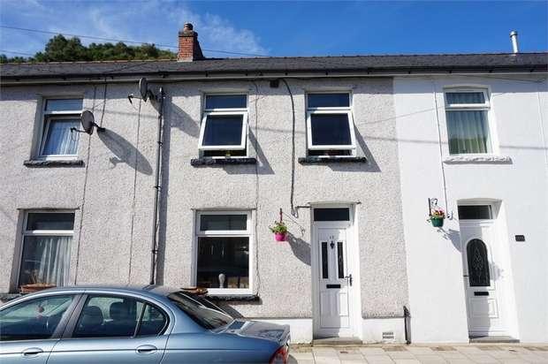 2 Bedrooms Terraced House for sale in Cambrian Street, Deri, BARGOED, Caerphilly
