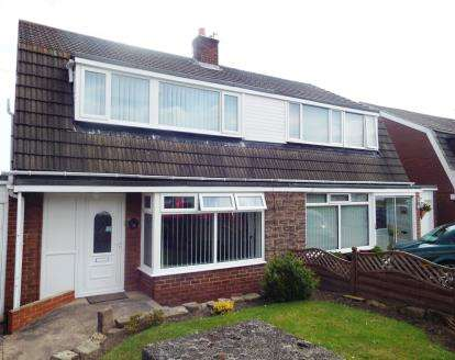 3 Bedrooms Semi Detached House for sale in Ross Ouston, Chester Le Street, Durham, DH2