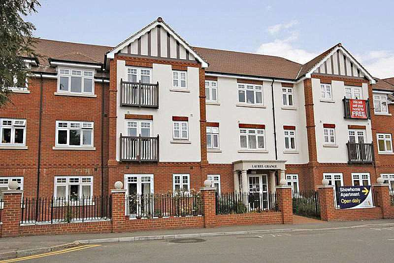 2 Bedrooms Retirement Property for sale in Laurel Grange, High Road, Byfleet, Surrey, KT14