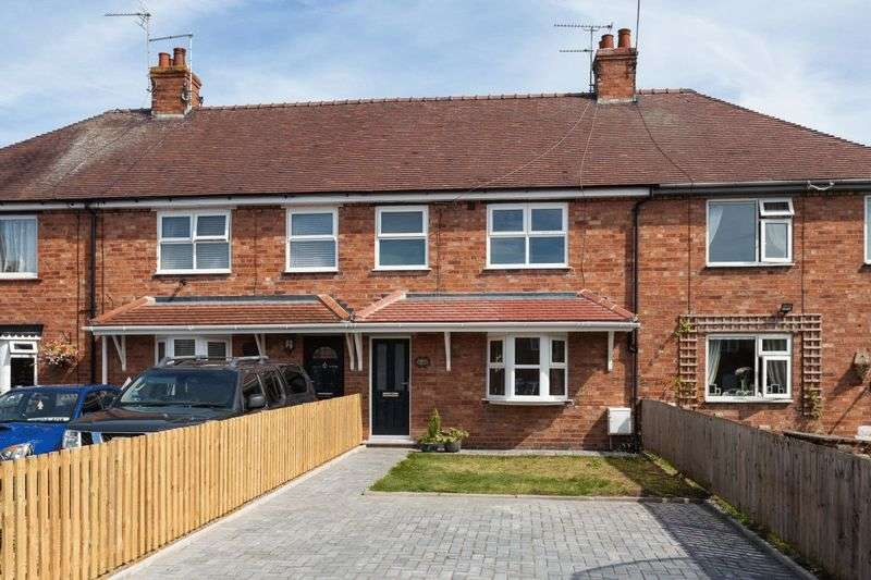 3 Bedrooms Terraced House for sale in St Mary's Road, Nantwich