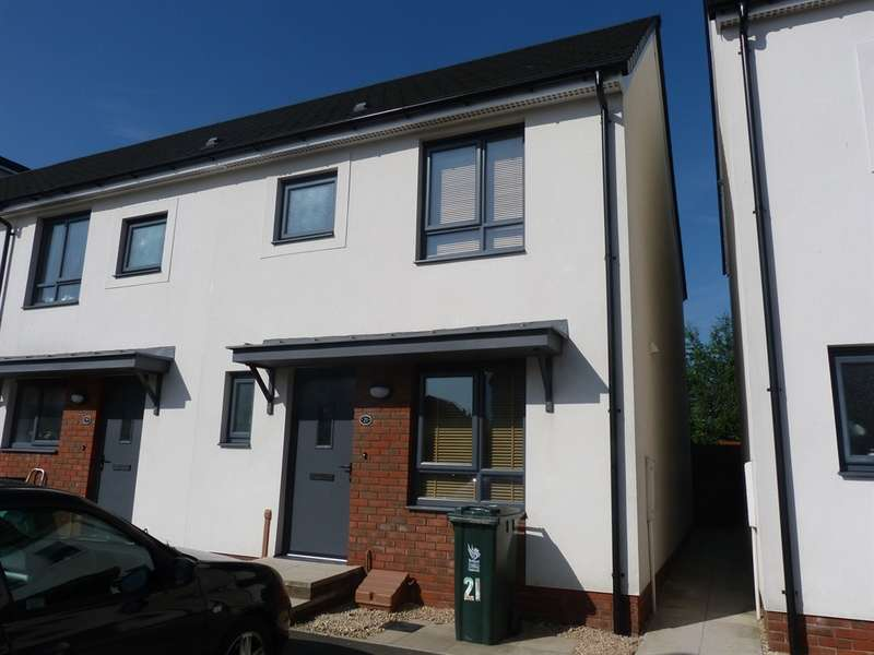 3 Bedrooms End Of Terrace House for sale in Alicia Crescent, Newport