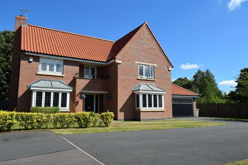 5 Bedrooms Detached House for sale in Carnell Lane, Fernwood, Newark