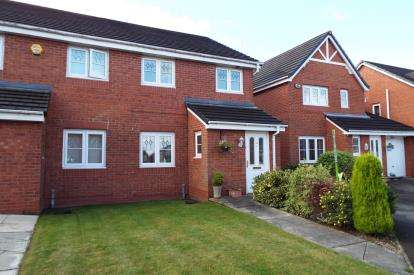 3 Bedrooms Semi Detached House for sale in Weavermill Park, Ashton-In-Makerfield, Wigan, Greater Manchester