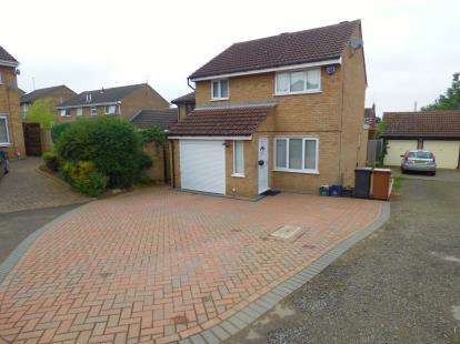 3 Bedrooms Detached House for sale in Peace Close, Northampton, Northamptonshire