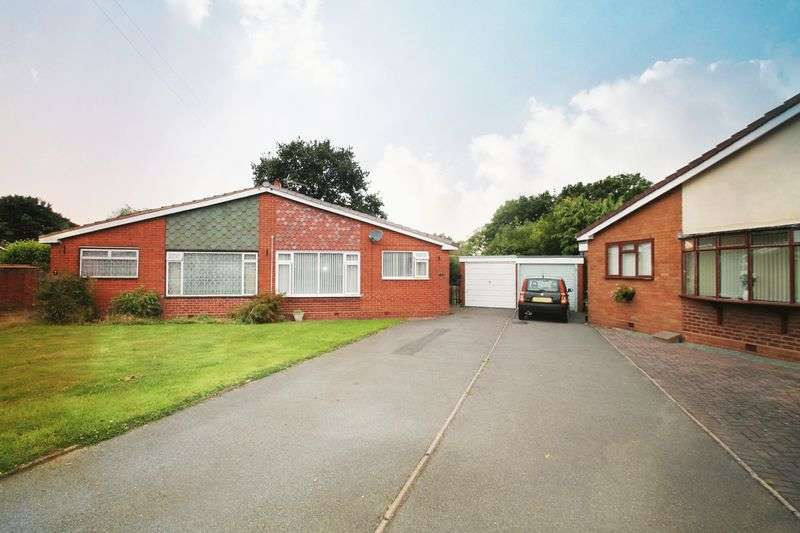 2 Bedrooms Semi Detached Bungalow for sale in 2 Bedroom Bungalow, Shepwell Gardens, Wolverhampton