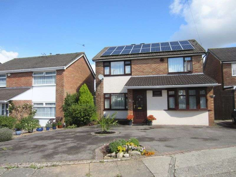 4 Bedrooms Detached House for sale in Lon Werdd Michaelston Cardiff CF5 4SS