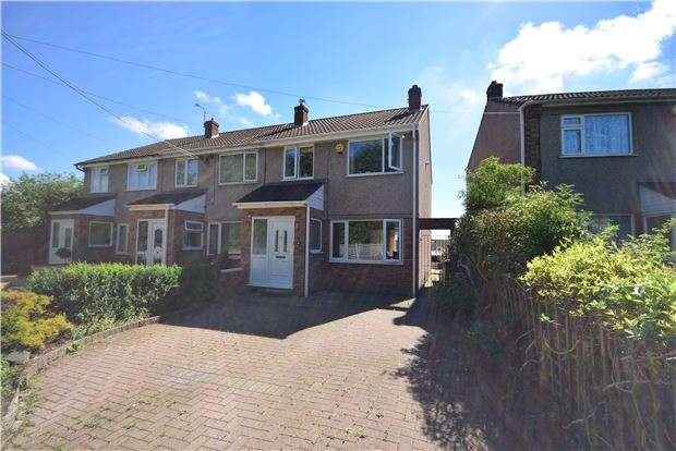 3 Bedrooms End Of Terrace House for sale in Crown Road, Kingswood, BRISTOL, BS15 1PR