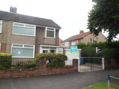 3 Bedrooms Semi Detached House for sale in Church Road, Halewood, Liverpool, Merseyside, L26