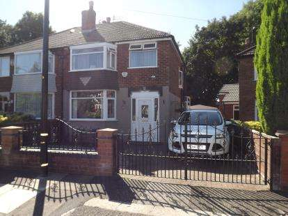 3 Bedrooms Semi Detached House for sale in Rothesay Crescent, Sale, Greater Manchester