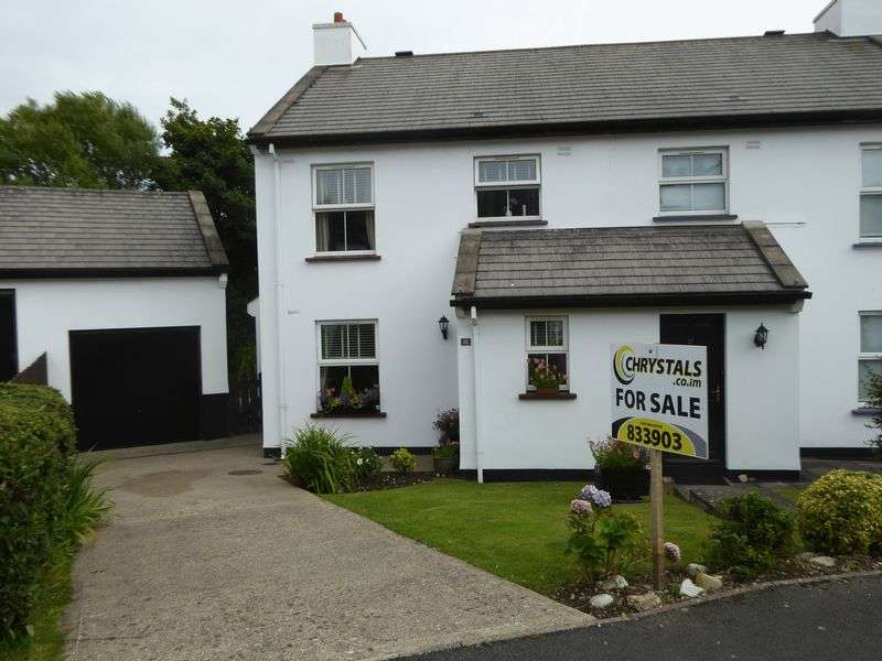 3 Bedrooms Semi Detached House for sale in Ballacubbon Arbory Road, Isle Of Man