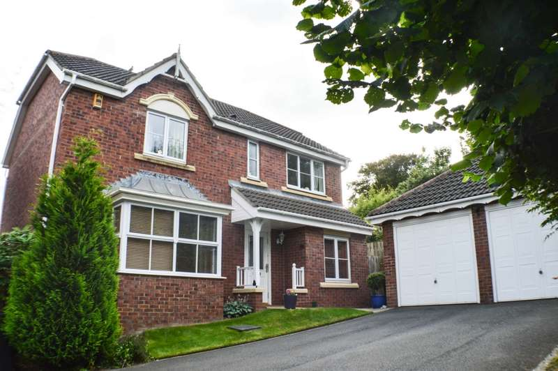 4 Bedrooms Detached House for sale in Tilley Crescent, Prudhoe, NE42