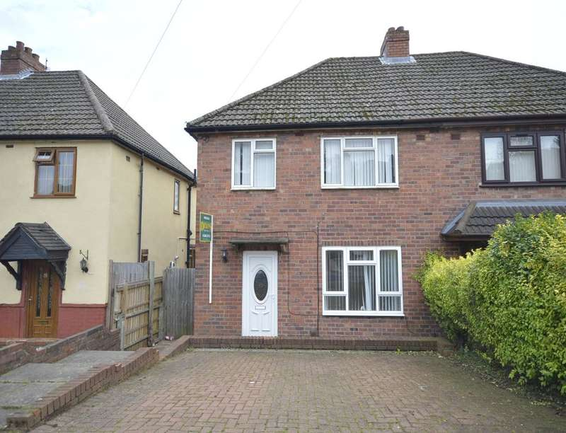 3 Bedrooms Semi Detached House for sale in Springfield Crescent, Dudley, DY2