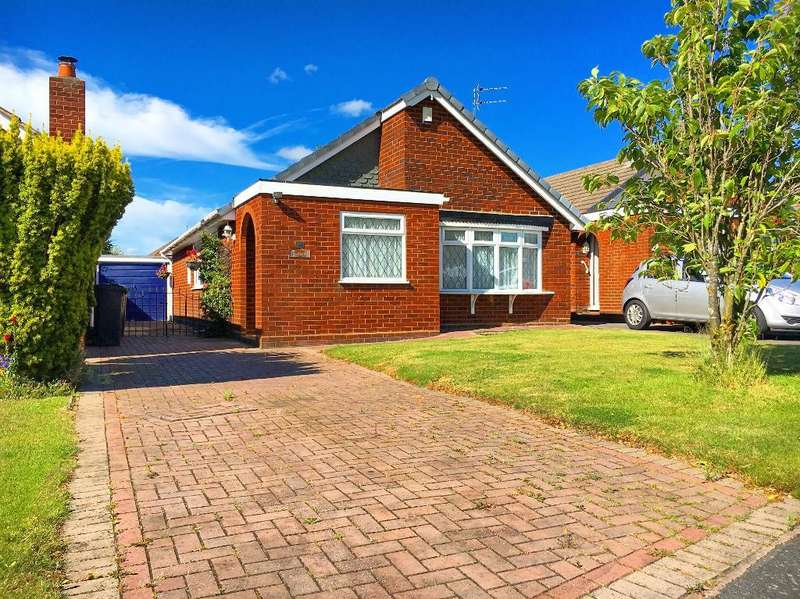 2 Bedrooms Bungalow for sale in DEAKIN AVENUE, BROWNHILLS, WALSALL, WEST MIDLANDS, WS8 7QA