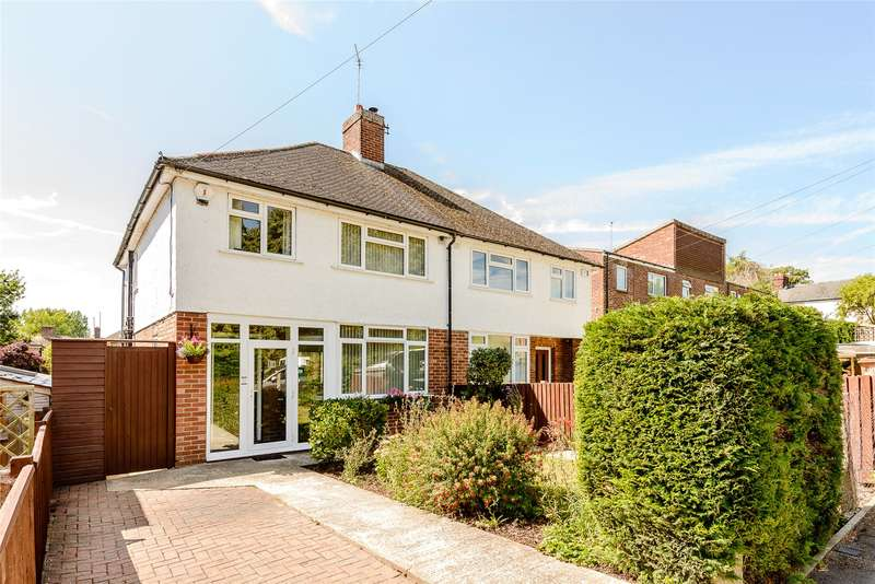 3 Bedrooms Semi Detached House for sale in St Peters Road, Wolvercote, Oxford, OX2