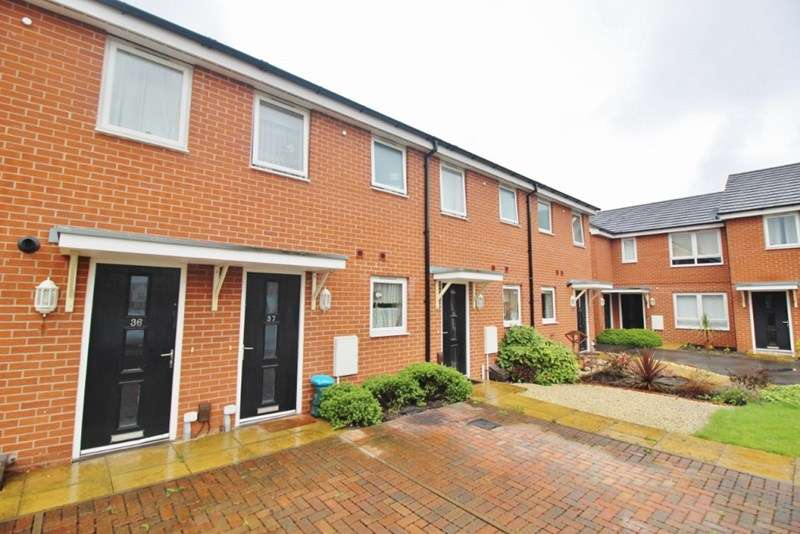 2 Bedrooms Terraced House for sale in Oval Drive, Fordhouses, Wolverhampton