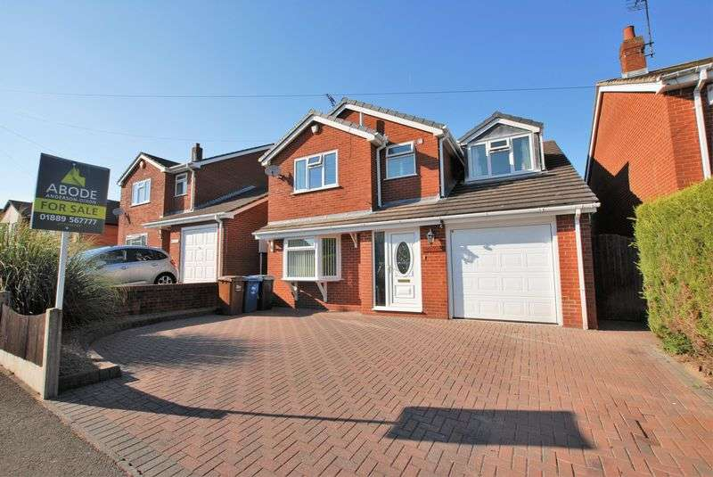 4 Bedrooms Detached House for sale in Vicarage Drive, Stramshall, Uttoxeter