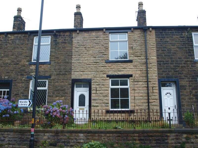 2 Bedrooms Terraced House for sale in Ramsden Road, Wardle, OL12 9NU