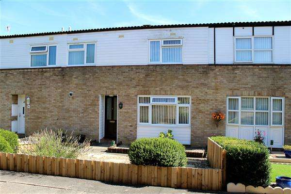 3 Bedrooms Terraced House for sale in Stacey Bushes, Milton Keynes