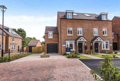 4 Bedrooms Semi Detached House for sale in Wergs Place, Wergs Road, Wolverhampton, West Midlands