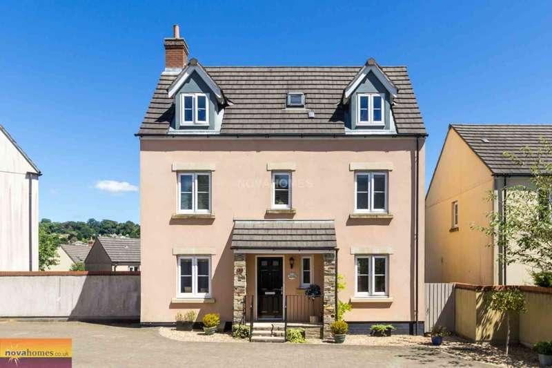 4 Bedrooms Detached House for sale in Kestrel Park, Whitchurch, PL19 9FX
