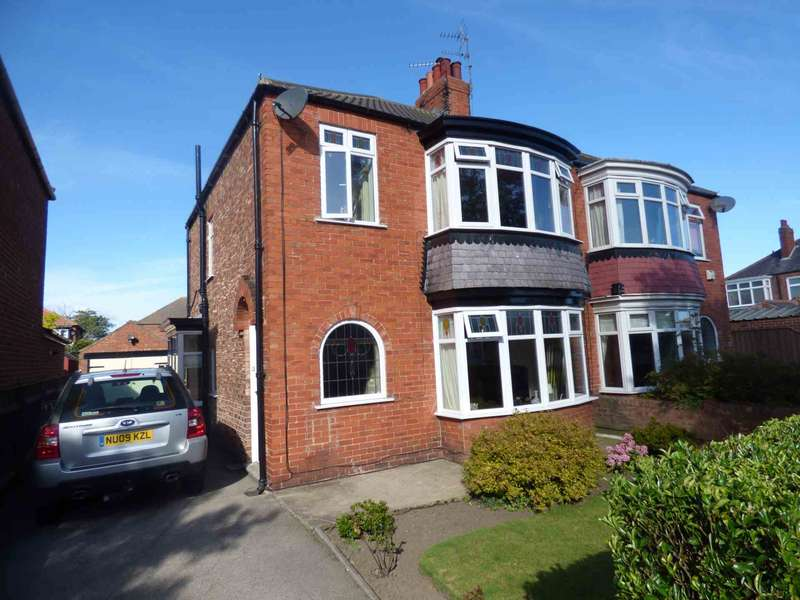 3 Bedrooms Semi Detached House for sale in Conway Road, Redcar
