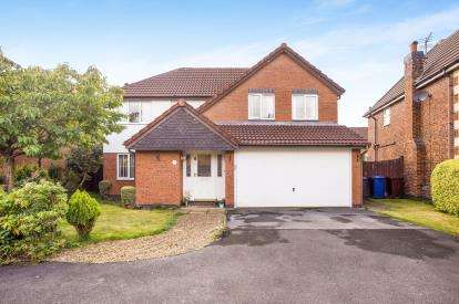 4 Bedrooms Detached House for sale in Hedgerows Road, Leyland, PR26