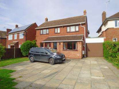 4 Bedrooms Detached House for sale in Tuffley Lane, Tuffley, Gloucester, Gloucestershire
